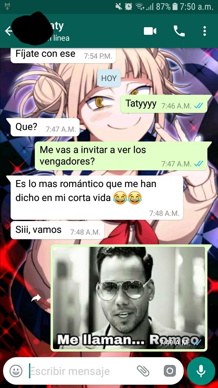 Soy romantico - meme
