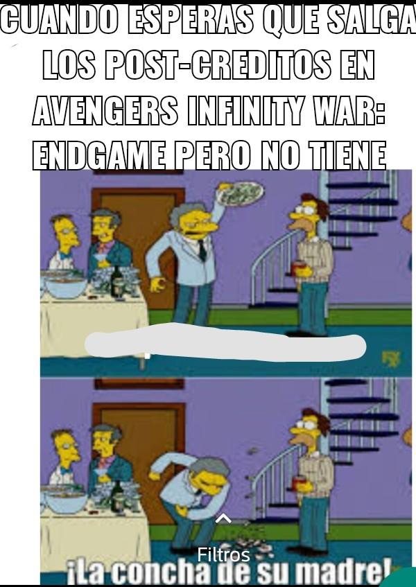 Lo siento por la calidad - meme
