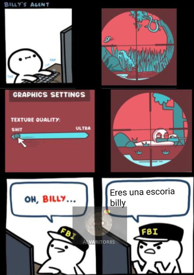 PINGHE BILLY - meme