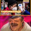 When you realize corona can kill coronavirus