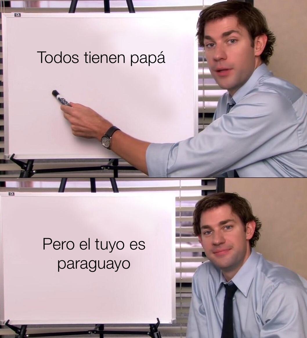paraguayo - meme