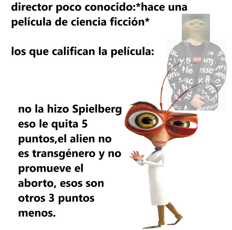 los alienígenas no promueven el aborto - meme