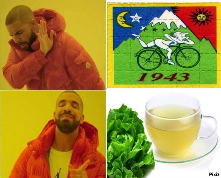 Desde que la lechuga es una droga similar al lsd - meme