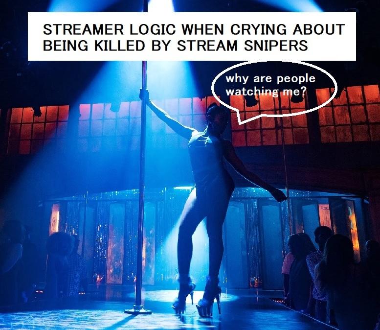 Streamsniper - meme