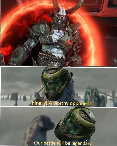 finally our battle will be legendary - meme