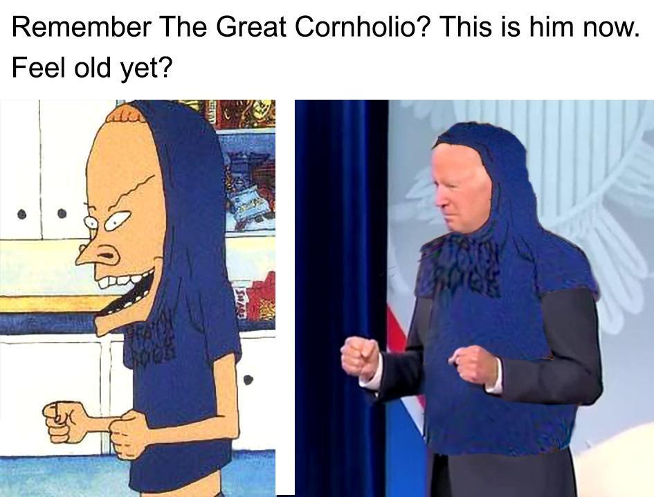 Cornholio - meme