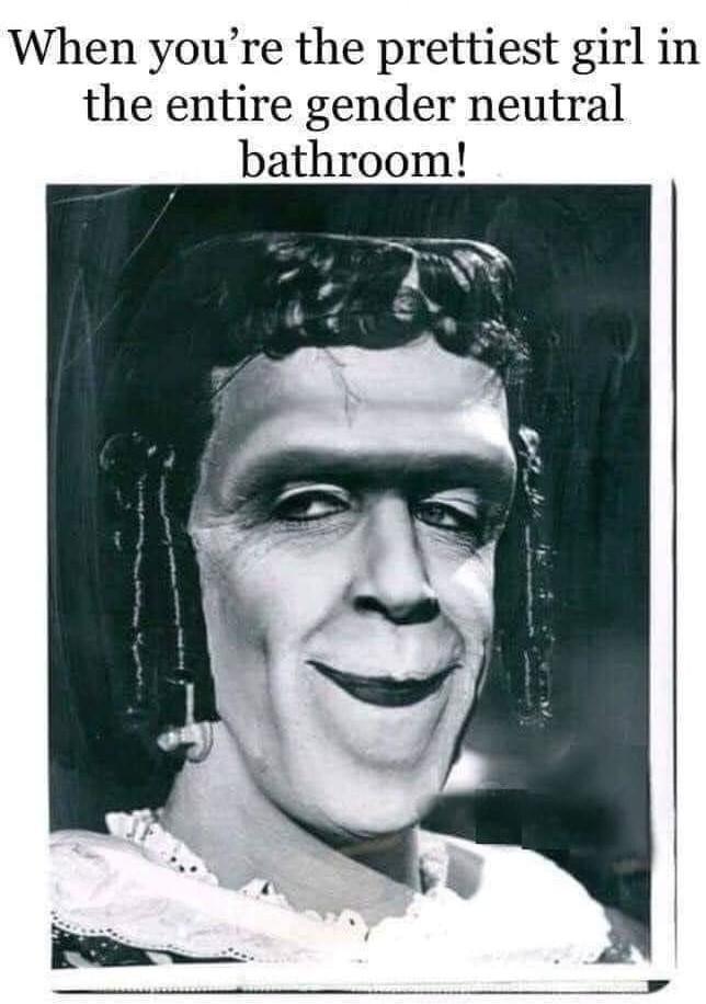 Gender Neutral Bathrooms - meme