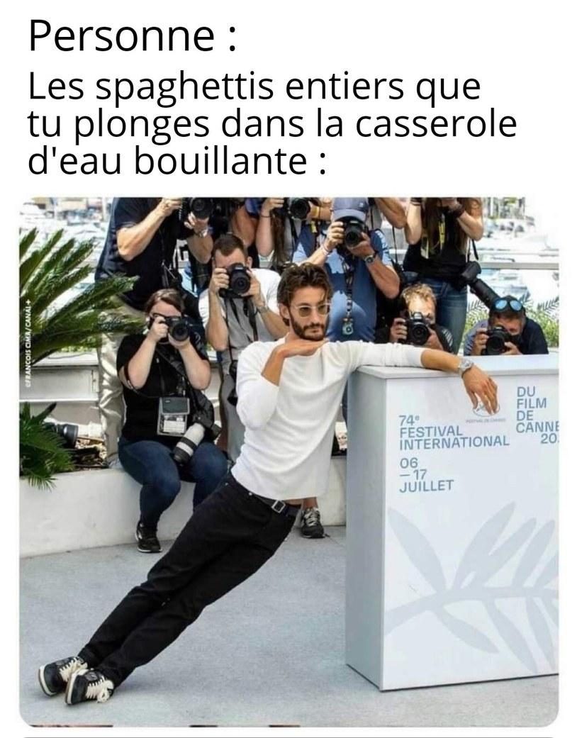 Pierre niney au festival de Cannes - meme