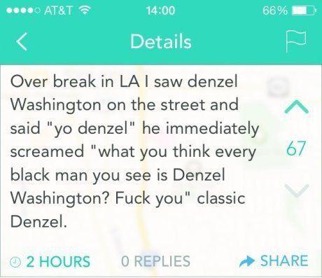 Notice me, Denzel - meme