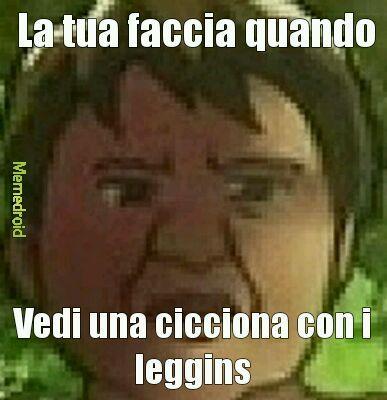 Leggins - meme
