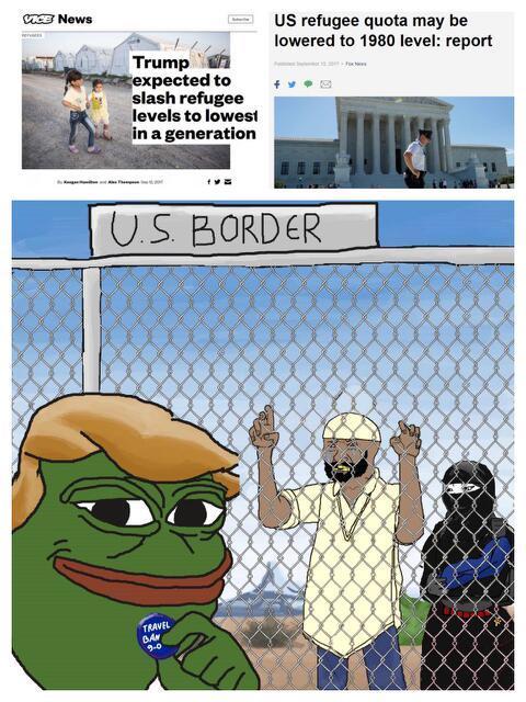 Stop importing terrorism - meme