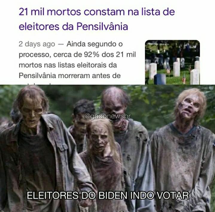the dead vote - meme