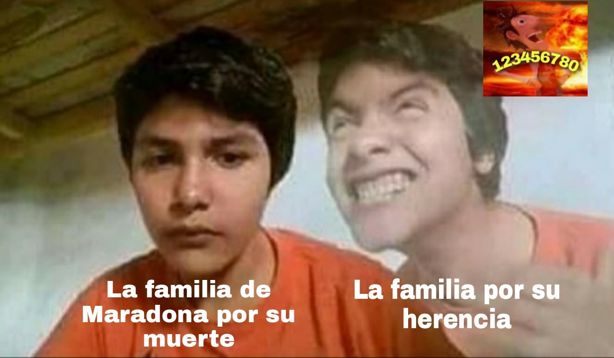 Maradona viven't - meme