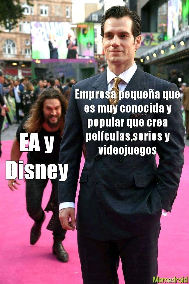 Los odio EA y Disney - meme