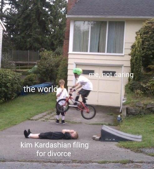 I don't care - meme