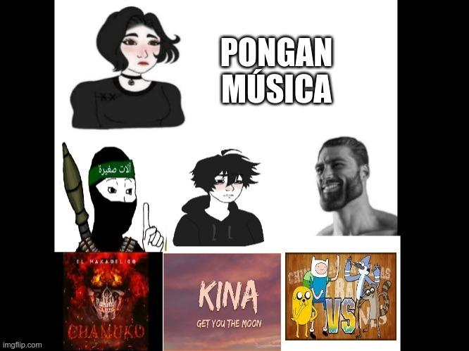 PONGAN MUSICA - meme