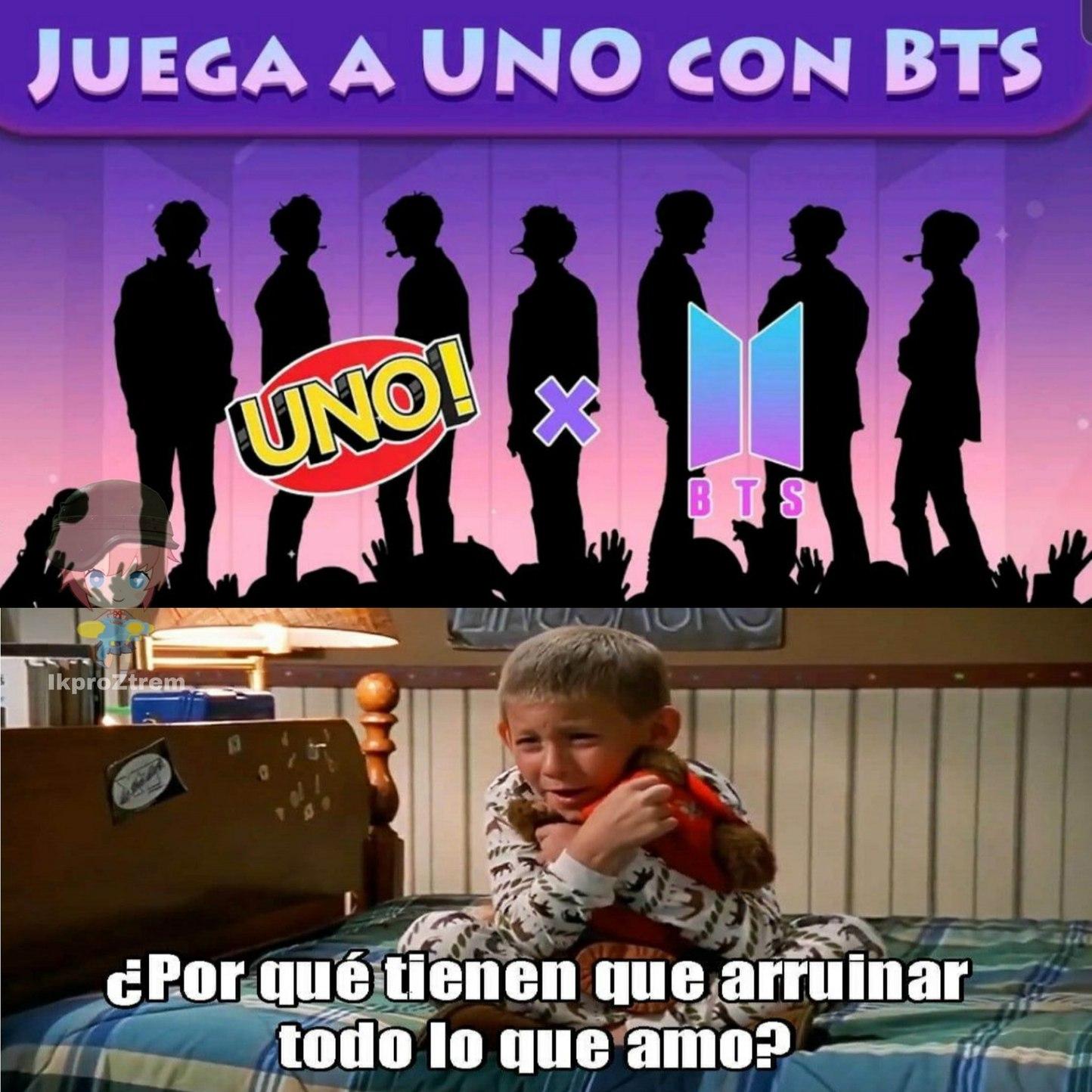 UNO x BTS - meme