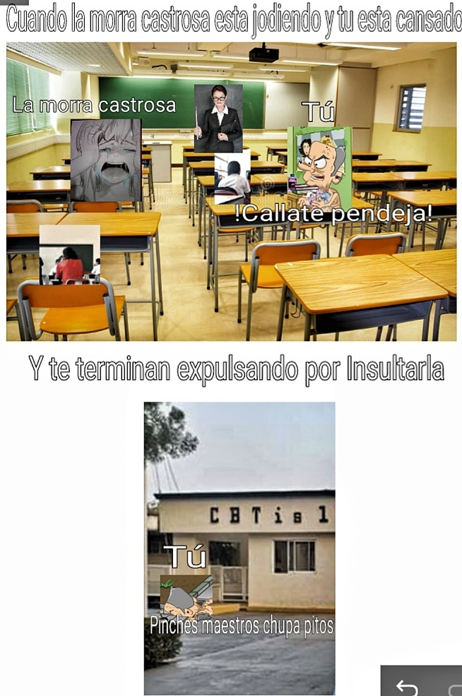 El abuelo en la escuela - meme