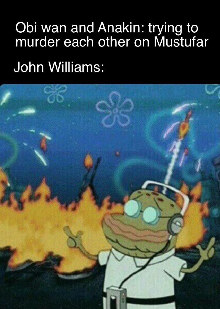 John Williams is a Chad - meme