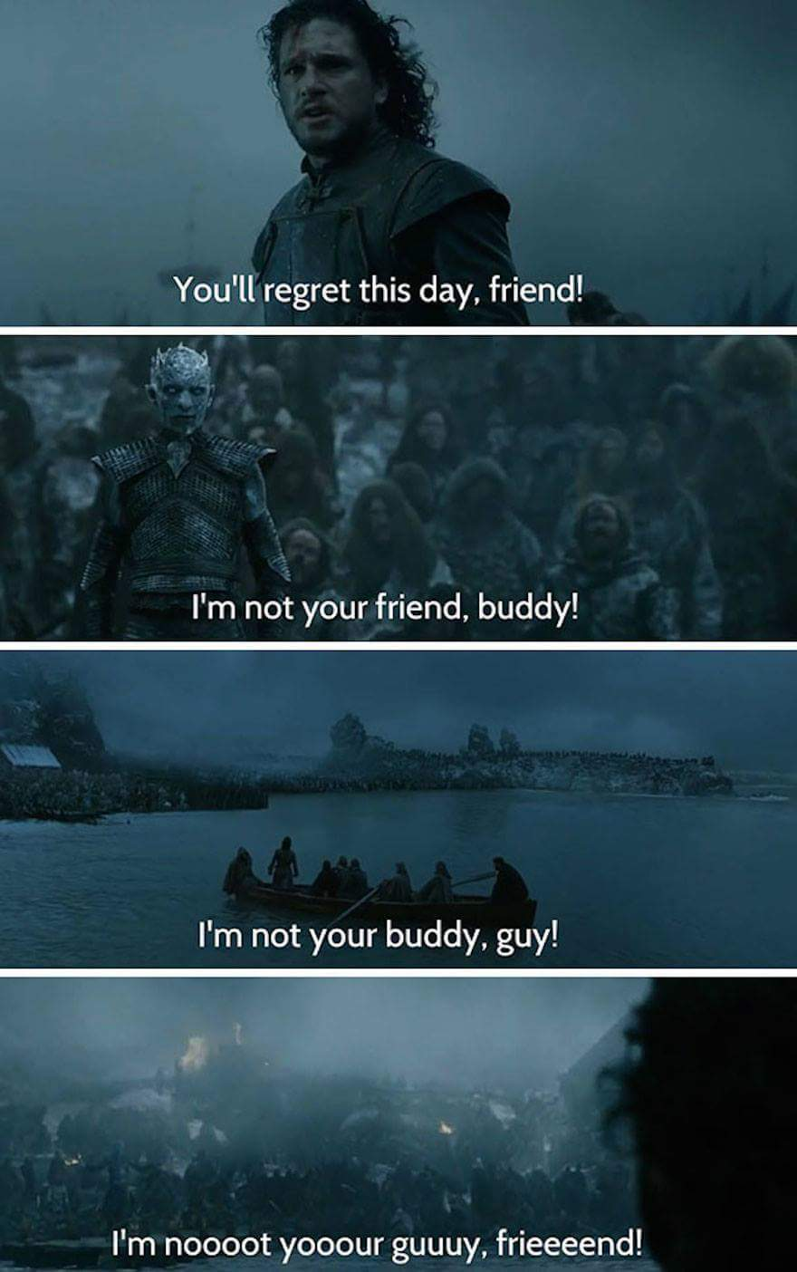 I'm not your guy, fwend - meme