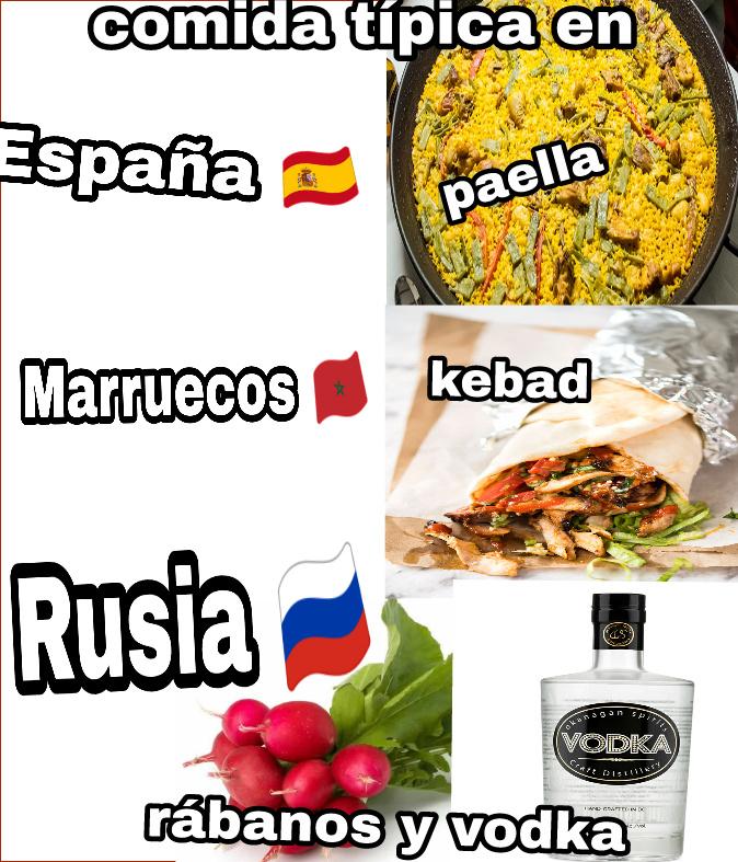 Comida tipica XDDDD - meme