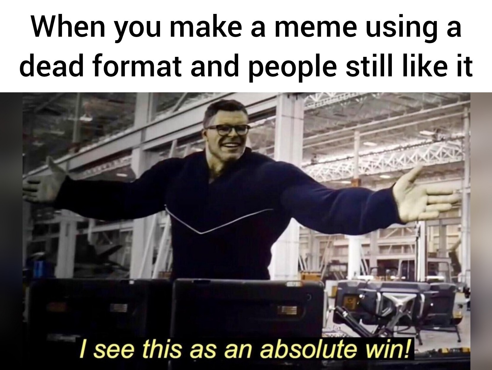 It's so satisfying. - meme