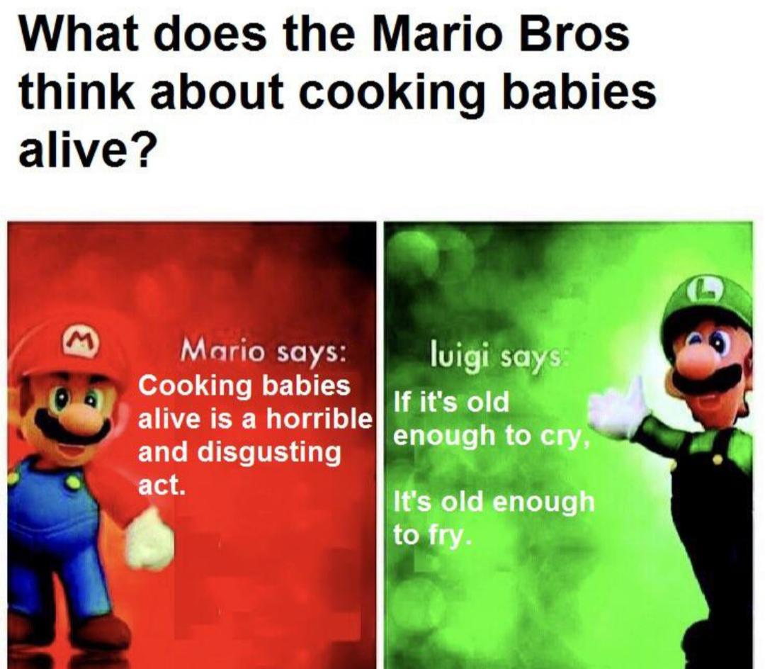 It explains the ghosts in Luigi's Mansion.. - meme