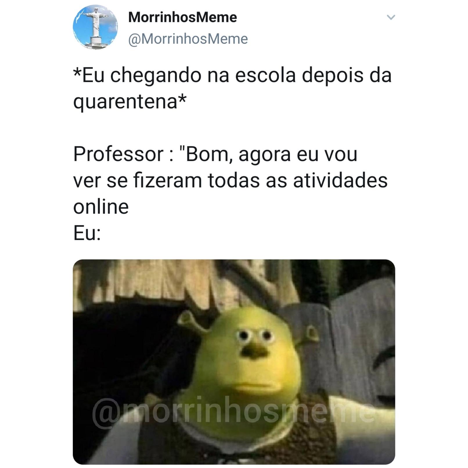 F alunos - meme