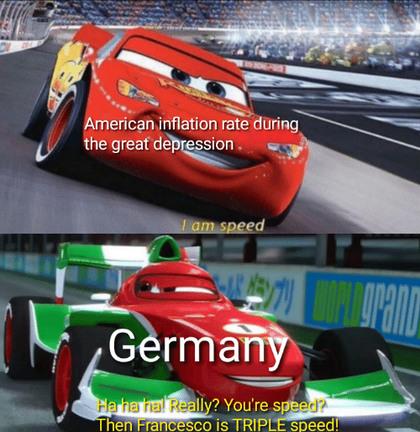 He's a dead boi - meme