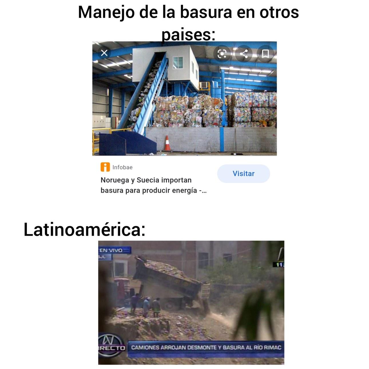 Por eso toda Latinoamérica es del primer mundo - meme