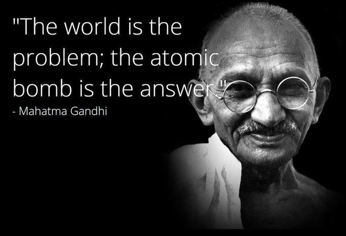 Gandhi quotes - meme