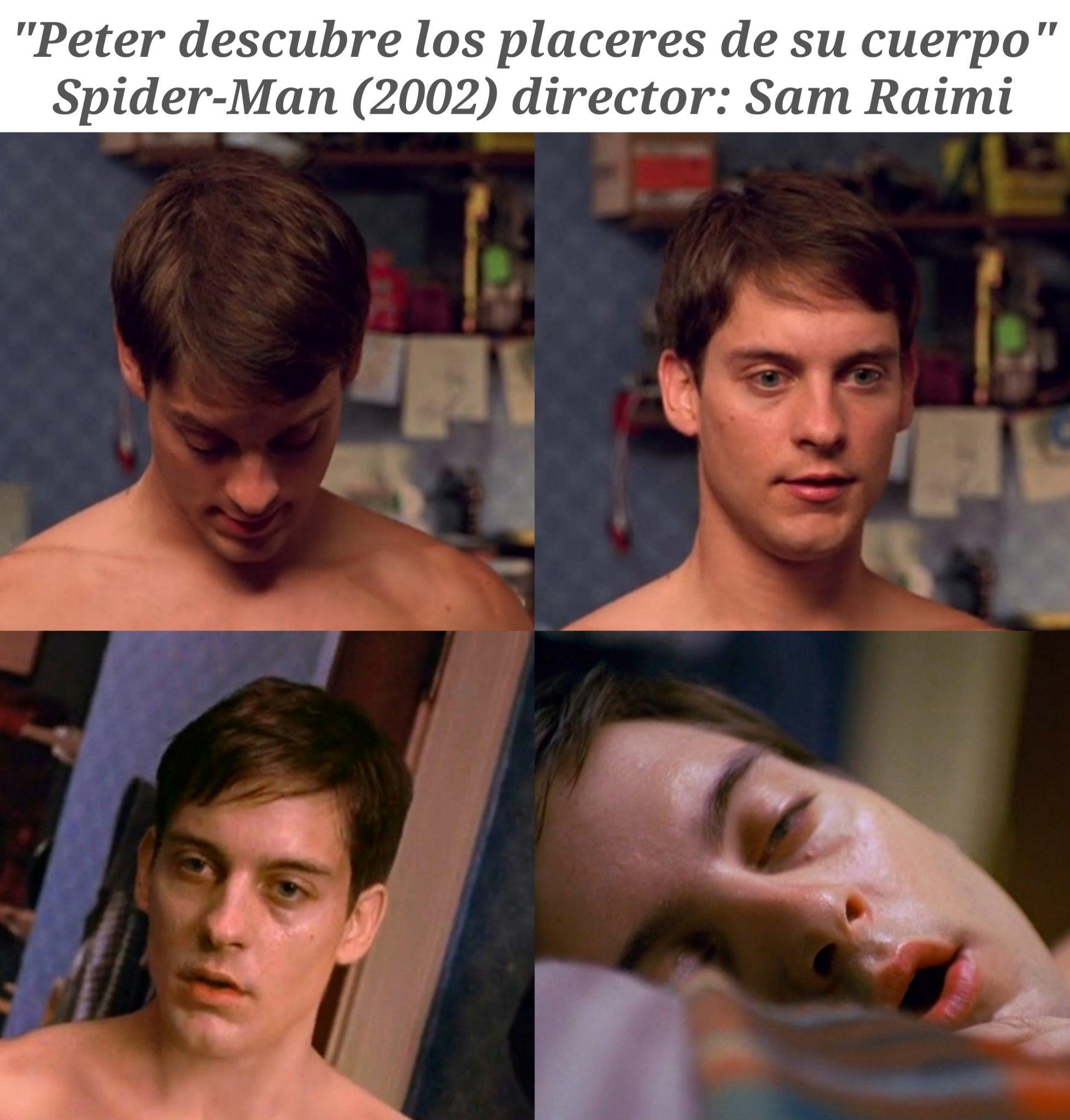 Peter pajas locas Parker - meme