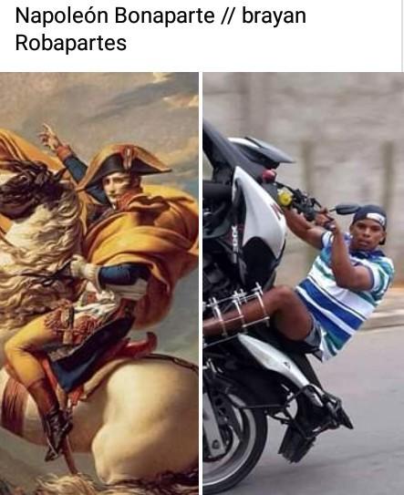 Viva Napoleón - meme
