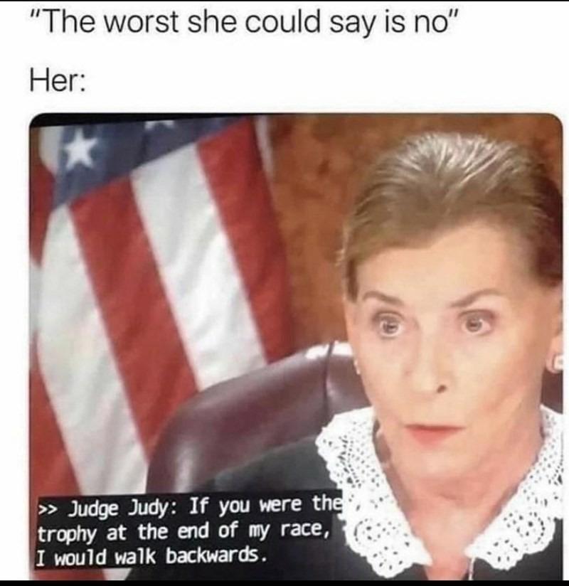 Le judge - meme