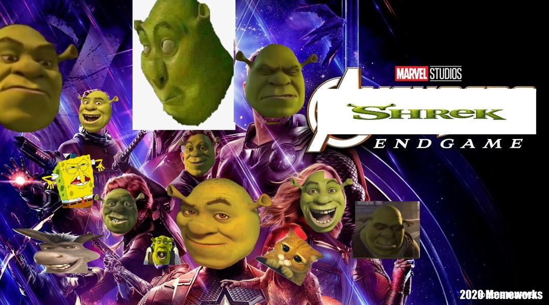 Shrek Endgame - meme