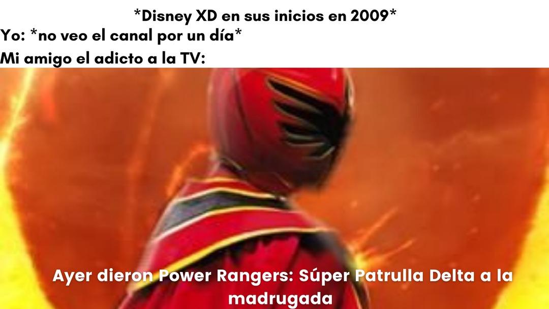 Power Rangers en incógnito... - meme