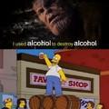 Alcohol also dissolves sharpie
