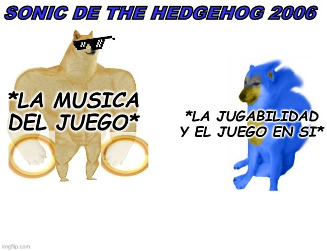 sonic the hedgehog 2006 - meme
