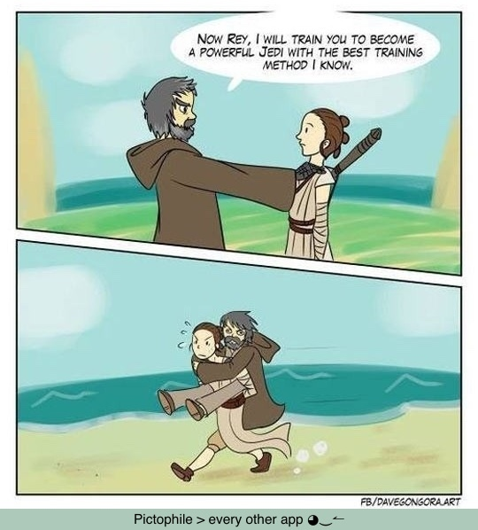 Jedi Training - meme