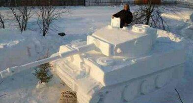 Bonhomme de neige lvl999 - meme