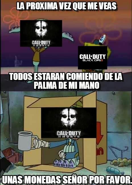 Ghosts v; - meme