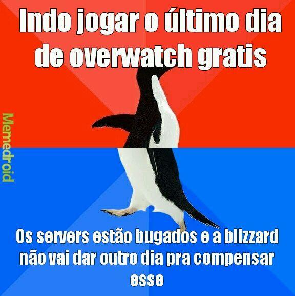 Blizzard perdeu meu respeito - meme