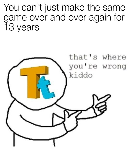 You guys remember when traveler's tales made games that weren't lego? - meme