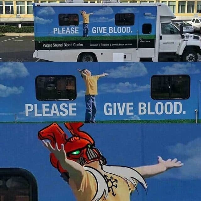 Blood for the Blood God! - meme