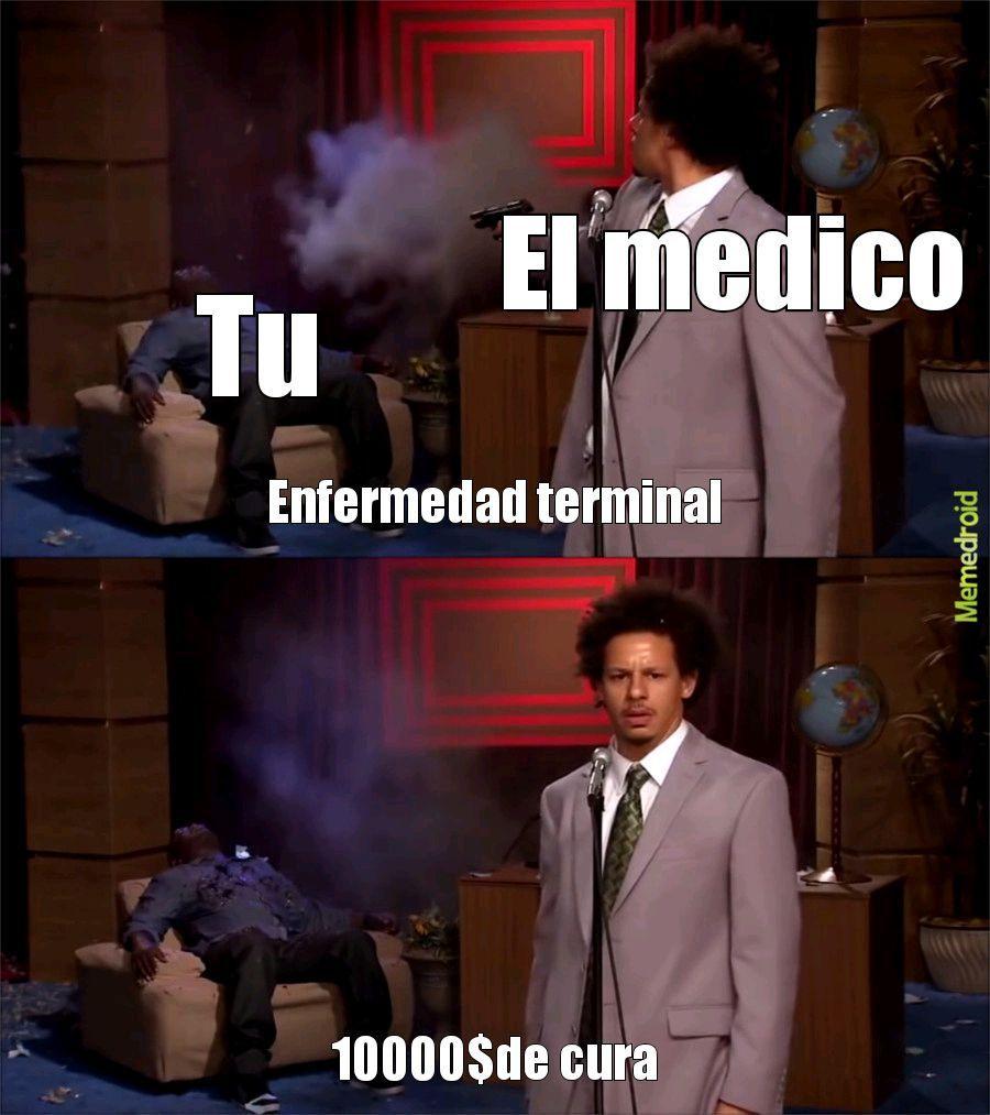 Enfermo - meme