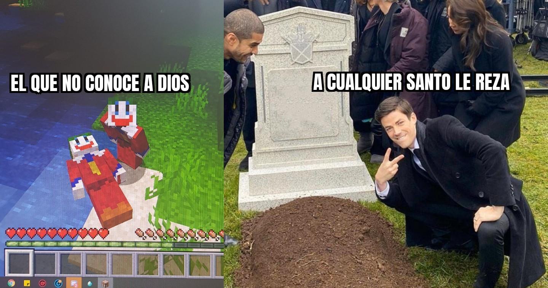 Murieron por coronavirus - meme