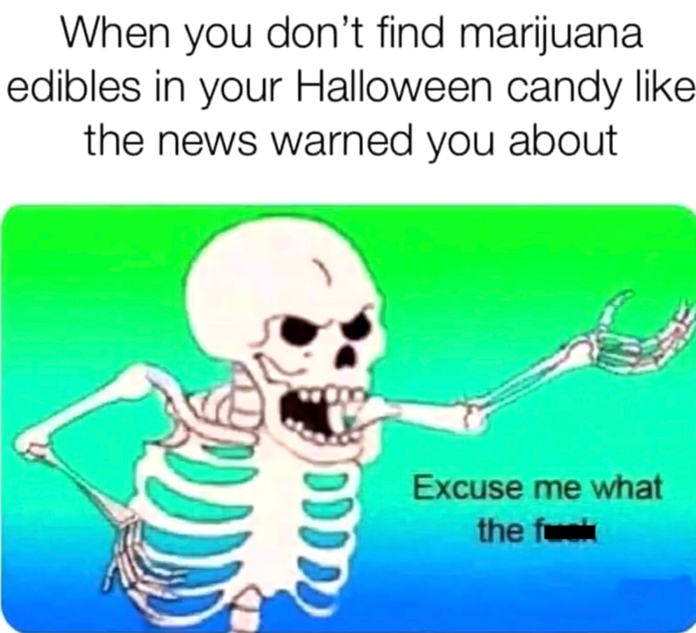 the news be lying hard bro - meme