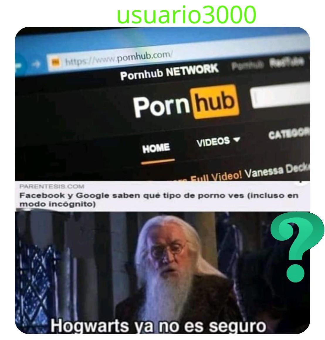 Nooo Harry que veías - meme