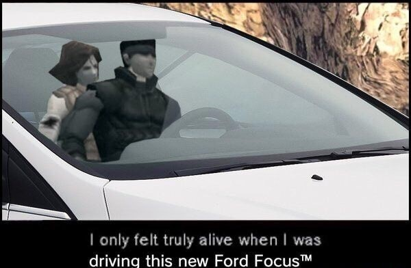A Ford Focus will do that to you - meme