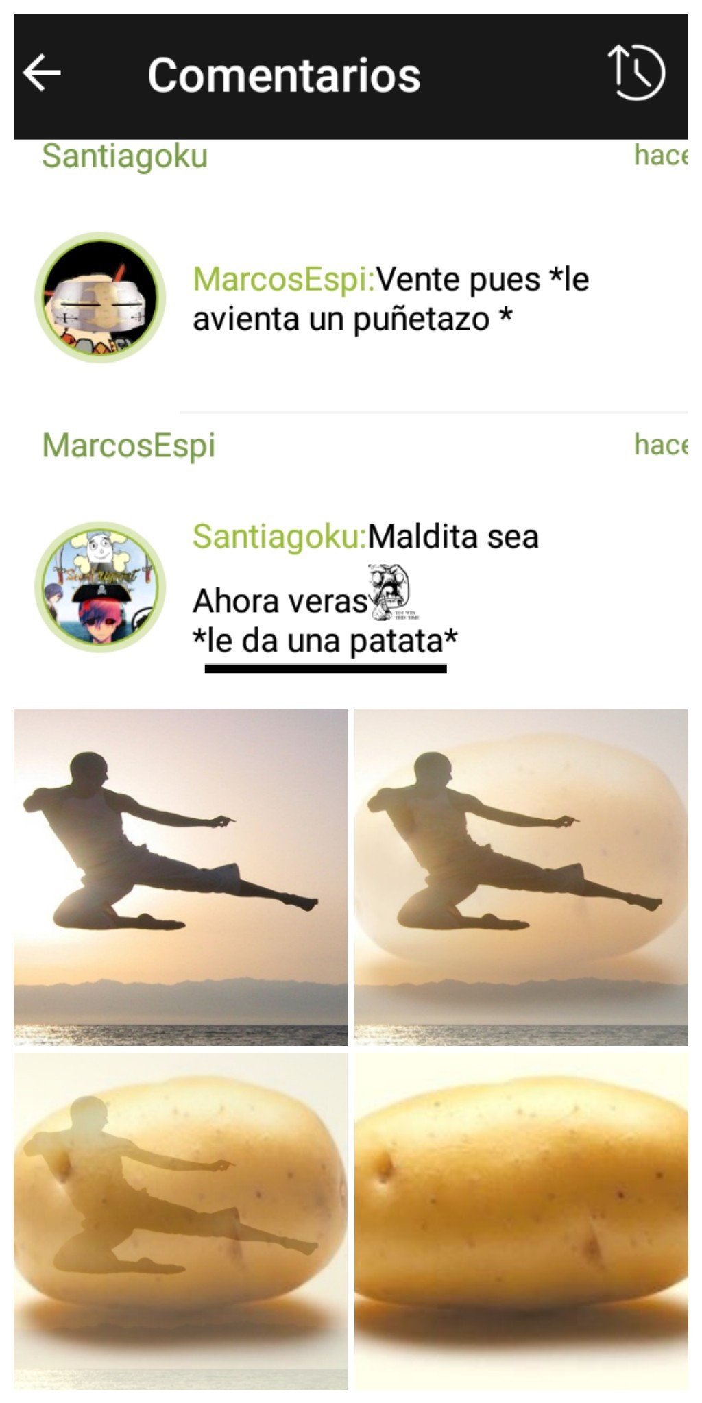 karate vegetal - meme